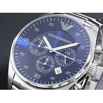 Relógio Emporio Armani 5860 Azul