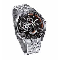 Relógio Masculino Casio Edifice Ef-543d-1av - Preto