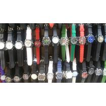 Lote/kit 10 Relógio Masculino Ótimo P/revender Melhor Preço