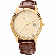 Relógio Technos Masculino Classic Executive 2115gl/2x Sedex