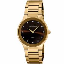 Relógio Technos Feminino Classic Slim 1l22wb/4m Original