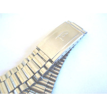 Pulseira Antiga Aço Relógio Pulso Beta 18 Mm