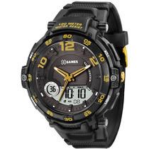 Relógio X Games Xmppa158 Tamanho Caixa 52mm - Garantia 1 Ano