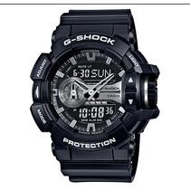 Relogio Casio G-shock Ga-400gb-1a Lançamento Ga-400 Em 12x