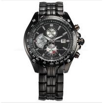 Relógio Masculino Barato Luxo Com Calendário Pronta Entrega