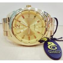 Relógio Atlantis Feminino Original - Lançamentos