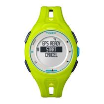 Smart Watch Timex Ironman Run X20 Tw5k87500/ti - Verde
