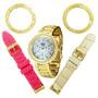 Relógio Dumont Feminino Vip Sk48069/h.