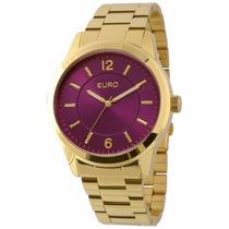 Relógioeuro Eu2036lzd/4g-dourado Frete Gratis