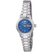 Relógio Orient Fem. Automático 559wa6x Azul - Garantia E Nf