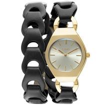 Relógio Feminino Euro, Couro. Caixa De 2.5 Cm - Eu2035fhd/2p