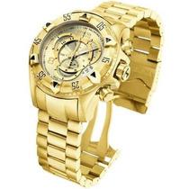 Relógio Invicta Excursion Reverse 6471 Dourado Barato
