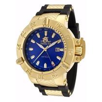 Relógio Invicta Subaqua 1150 Dourado Masculinocompleto