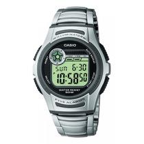 Relogio Casio W-213 D Aço 5 Alar Timer Crono W212 W213 A158