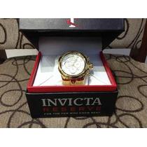 Relógio Invicta Folheado A Ouro- Super Luxo -original