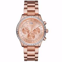 Relógio Feminino Michael Kors Mk6204 Rose - Lindo