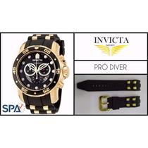 Pulseira Relógio Invicta Prodiver 6983 6981 Série Prata