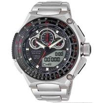 Relogio Citizen Jw0071-58e Super Cronografo Titanium Jw0071