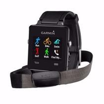 Relógio Smartwatch Com Gps Vivoactive Garmin Cor Preto