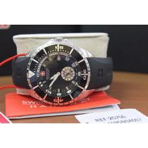 Relógio Hanowa Swiss Made Militar Semi-novo Na Caixa