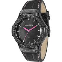 Relógio Feminino Mondaine Analógico Preto 76355lpmvph1