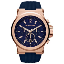 Relógio Luxo Michael Kors Mk8295 Orig Chron Anal Gold Rose!!