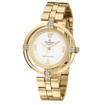 Relógio Champion Fem. Cn27143h - Garantia E Nota Fiscal