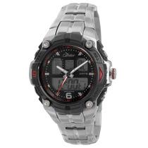 Relógio Masculino Anadigi Condor Coad912ab8r - Prata