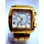 Relógio Classic Quartz - Dourado - Lindo - Leilão