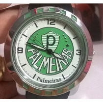 Relógio Masculino Times De Futebol Palmeiras Frete Gratis