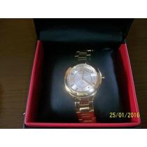 Relógio Technos Feminino Dourado Modelo 2035ll