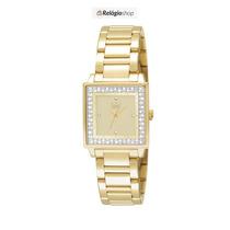 Relógio Dourado Feminino Dumont Du2035lml/4x - Lançamento.