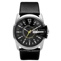 Relógio Diesel Masculino Pulseira Em Couro Dz1295/0pn