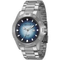 Relógio Seculus Long Life Masculino Moderno 28421g0svna1 Te