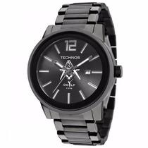 Relógio Technos Maçonaria 2115kmu/m1p - Garantia E Nf