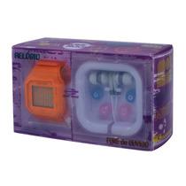 Relógio Mormaii Yp0472a/8l Digital 100m Acompanha Fones