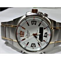 Relógio Condor Anadigi Masculino Prova Dágua Kc18112b --