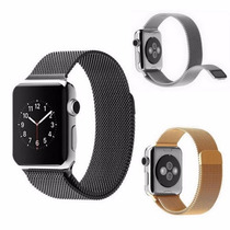 Pulseira Milanese Loop Silver Relógio Apple Whatch 38mm