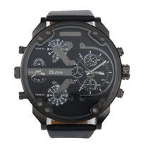 Relógio Militar Oulm 3548 Stainless Steel Back +frete Grátis