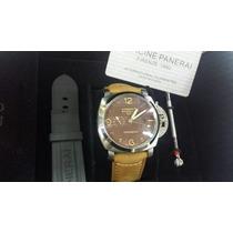 Relógio Luminor Panerai Gmt Automático