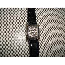 Relógio Alemão Automático,trias Kingston,eskeleto Sem Uso .