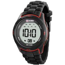 Relógio X Games Xmppd267 Tamanho Caixa 43mm - Garantia 1 Ano