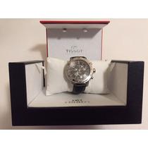 Relógio Tissot Prs200 - Prata - Pulseira De Couro