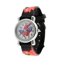 Relógio Homem Aranha Spiderman Pulseira 3d Excelent Presente