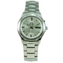 Relógio Orient Automático 469ss006 Visor Prata Elegante Belo