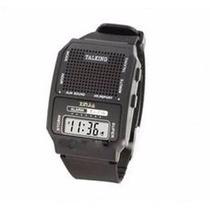 Relógio Que Fala Hora Em Espanhol Idoso Deficiente Visual