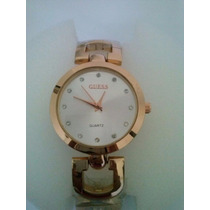 Relógio Feminino Guess Dourado Importado Lindo!!!