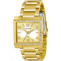 Relógio Lince Lqgk032l C2kx Feminino Dourado - Refinado