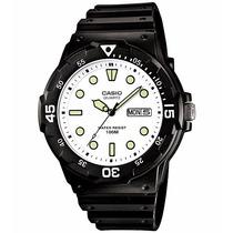 Relógio Casio Mergulho Mrw-200 H-7 Calendário Wr100 Metros B