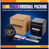 Relógio Masculino Multifunção S-shock Original Marca Skmei